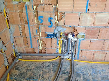 Ristrutturazione casa a ferrara idraulico ferrara - Impianto acqua bagno ...