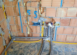 impianti gas acqua cucina ferrara