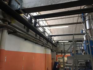 impianto di raffreddamento industriale