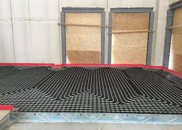 impianto riscaldamento a pavimento industriale occhiobello