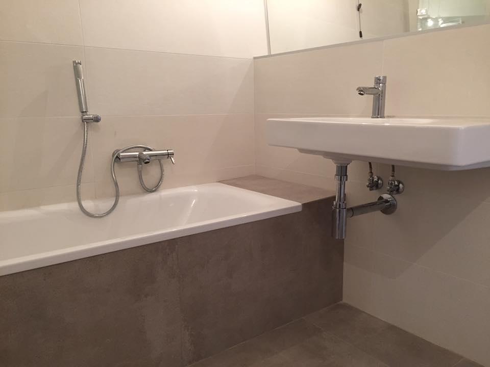 Vasca da bagno in muratura modena idraulico ferrara