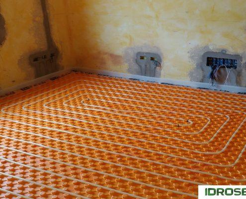 impianto di riscaldamento a pavimento Idroservice Ferrara