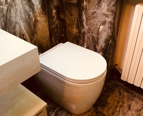WC Ceramica Azzurra per Idroservice Ferrara